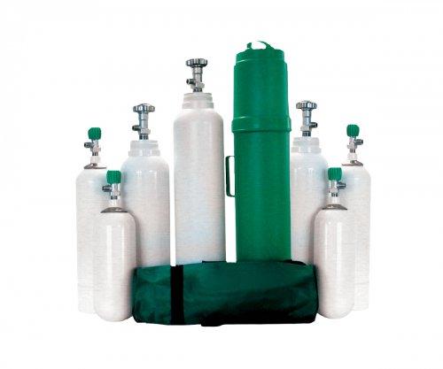 Přenosná kyslíková láhev pro terapii 15029 - 15038