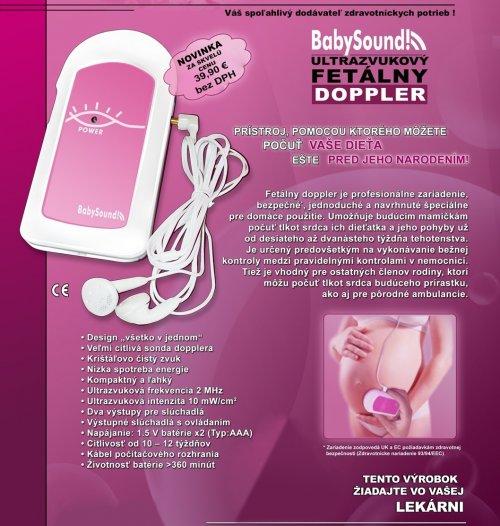 Ultrazvukový fetálny DOPPLER