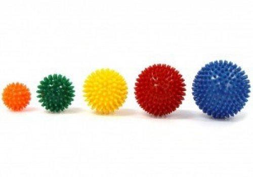 Masážna loptička ježko